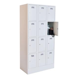 #02 BOXES 12 │ Skriňa na úschovu cenností s 12 priehradkami, 1800/900/500 mm