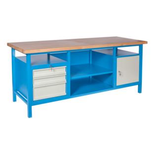 #08 HARDWORK │ Pracovný stôl s nosnosťou do 500 kg