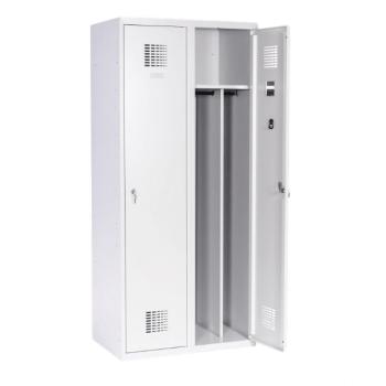 #02 MAXI 2│ 2-dverová šatníková skriňa s prepážkou, 1800/800/500 mm