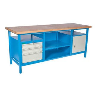 #08 HARDWORK │ Pracovný stôl s veľkou nosnosťou