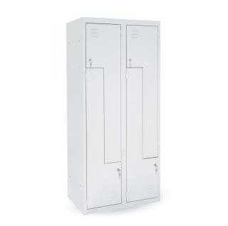 #03 CIK-CAK MAXI 4│ 4-dverová šatňová skriňa s dverami typu Z, široká, 1800/800/500 mm