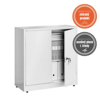 #04 STRONG MINI │ Masívna kovová skladovacia skriňa – nízka