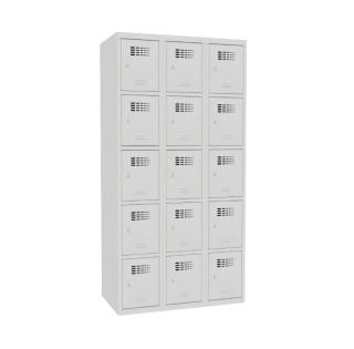 #02 BOXES 15 │ Skriňa na úschovu cenností s 15 priehradkami, 1800/900/500 mm