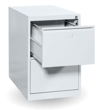 #03 FILE 2 │ 2-zásuvková kartotéková skriňa, 710/470/620 mm
