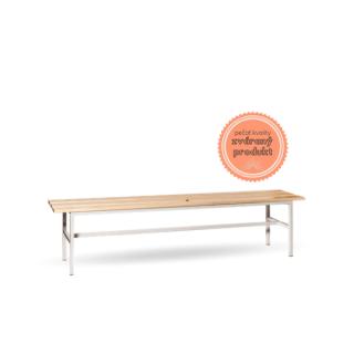 #16 BENCH 2000 │ Šatňová lavička so šírkou 2000 mm