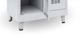#03 FEET STANDARD │Nožičky ku kovovým šatníkovým skriniam, výška 135mm