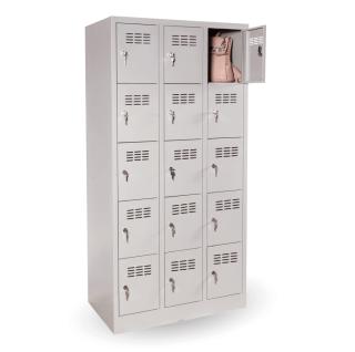 #03 BOXES 15 │ Skriňa na úschovu cenností s 15 priehradkami, 1800/900/500 mm