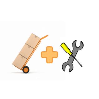 Výnos tovaru+montáž