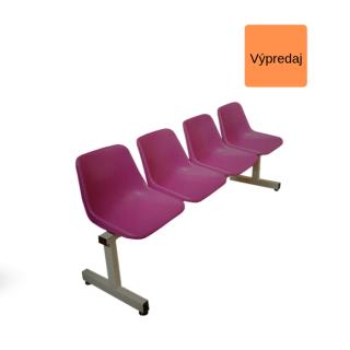 #07 WAITING 4 LILA – 4 – miestna lavica do čakárne
