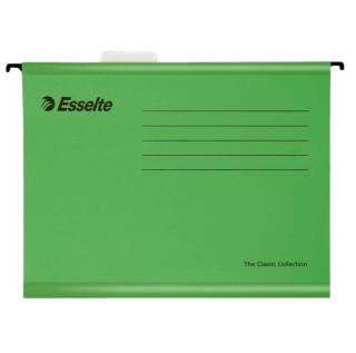 #18 FILE GREEN - Závesný obal Esselte