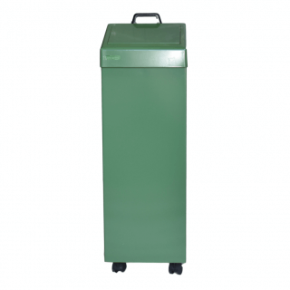 #06 WASTE GREEN - Exterierový odpadový kôš