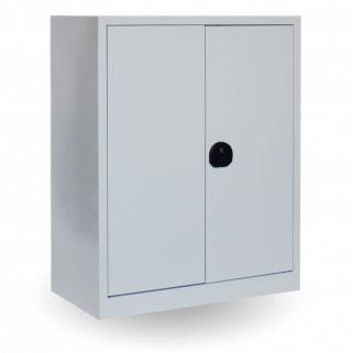 #03 STRONG SLIM MINI - Kancelárska alebo dielenská skriňa na dokumenty s 2 policami, 1000/800/420 mm