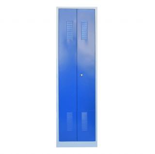 #03 STANDARD CROSS SLIM - 2-dverová šatňová skriňa  s otváraním do seba 1800/500/500 mm