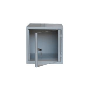 #03 BOX 1 PLEXI - Skriňa na úschovu cenností s plexi dvierkami,  380/380/380 mm