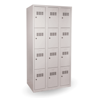 #03 BOXES 12 - 12-priehradková skriňa na úschovu cenností, 1800/900/500 mm