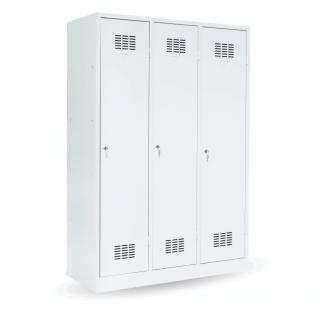 #03 MAXI 3│ 3-dverová šatníková skriňa s prepážkou, 1800/1200/500 mm