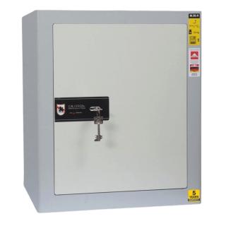 #17 SAFE M50 KEY – Bezpečnostná schránka sivá, 417 x 494 x 291 mm