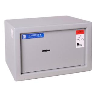 #17 MINISAFE L17 KEY – Bezpečnostná schránka sivá,  260 x 170 x 230 mm