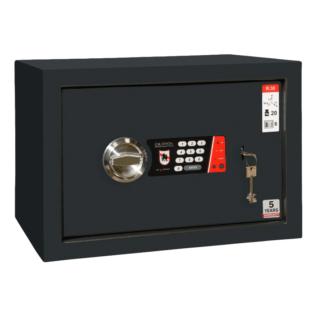 #17 MINISAFE R30 ELECTRO KEY – Bezpečnostná schránka čierno – biela,  430 x 300 x 320 mm