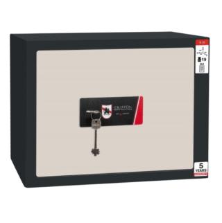 #17 MINISAFE S30 KEY – Bezpečnostná schránka čierno – biela,  380 x 300 x 320 mm