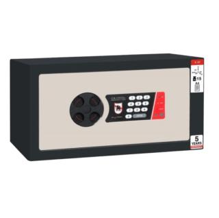 #17 MINISAFE S20 ELECTRO – Bezpečnostná schránka čierno – biela, 380 x 200 x 260 mm