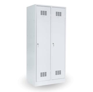 #03 MAXI 2│ 2-dverová šatníková skriňa s prepážkou, 1800/800/500 mm