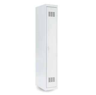 #03 STANDARD 1 - 1-dverová kovová šatníková skriňa, 1800/300/500 mm