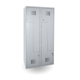 #02 CIK-CAK MAXI 4 | 4-dverová šatníková skriňa s dvermi typu Z