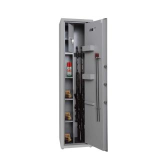 #17 HUNTER 1412 3 KEY - Trezor na 3 zbrane, uzamykanie na kľúč, 1412/350/300 mm