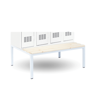#16 SPORTBENCH 1200 - Zabudovaná lavica k skriniam so šírkou 1200 mm