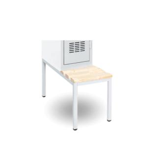 #16 SPORTBENCH 300 - Zabudovaná lavica k skriniam so šírkou 300 mm