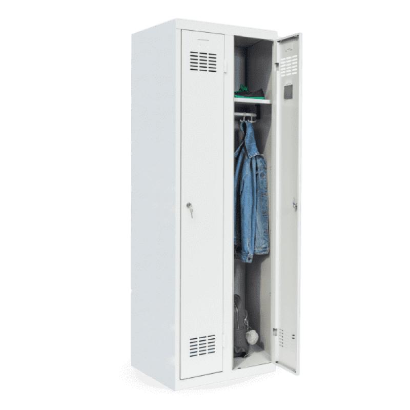 #03 STANDARD 2 - 2-dverová šatníková skriňa, 1800/600/500 mm