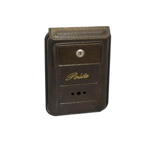 #99 POSTBOX SWBN | Malá poštová schránka so šikmou strieškou 260/190/25 mm