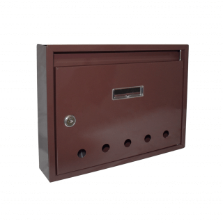 #99 POSTBOX SPERBR | Malá poštová schránka s dierkami 235/320/60 mm