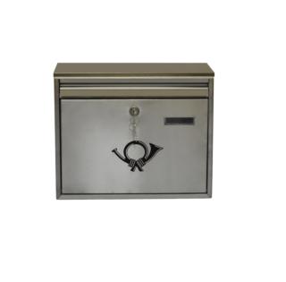 #99 POSTBOX BINOX | Poštová schránka nerez 360/260/80 mm