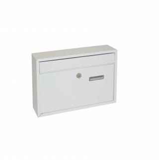 #99 POSTBOX BZIPWE | Poštová schránka biela 360/260/80 mm
