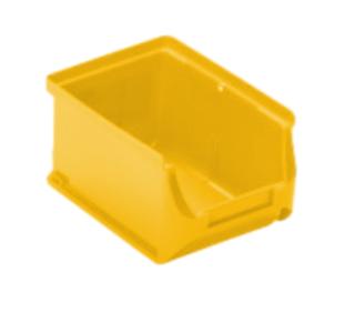 #99 PLASTBOX YW 2B | Umelohmotný box žltý 160/137/82 mm