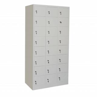 #26 BOXES 24 ECONOMY - 24-priehradková skriňa na úschovu cenností, 1850/900/500 mm
